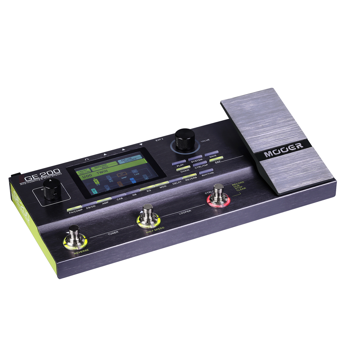 Mooer GE200 Preventa + Accesory Kit de Regalo