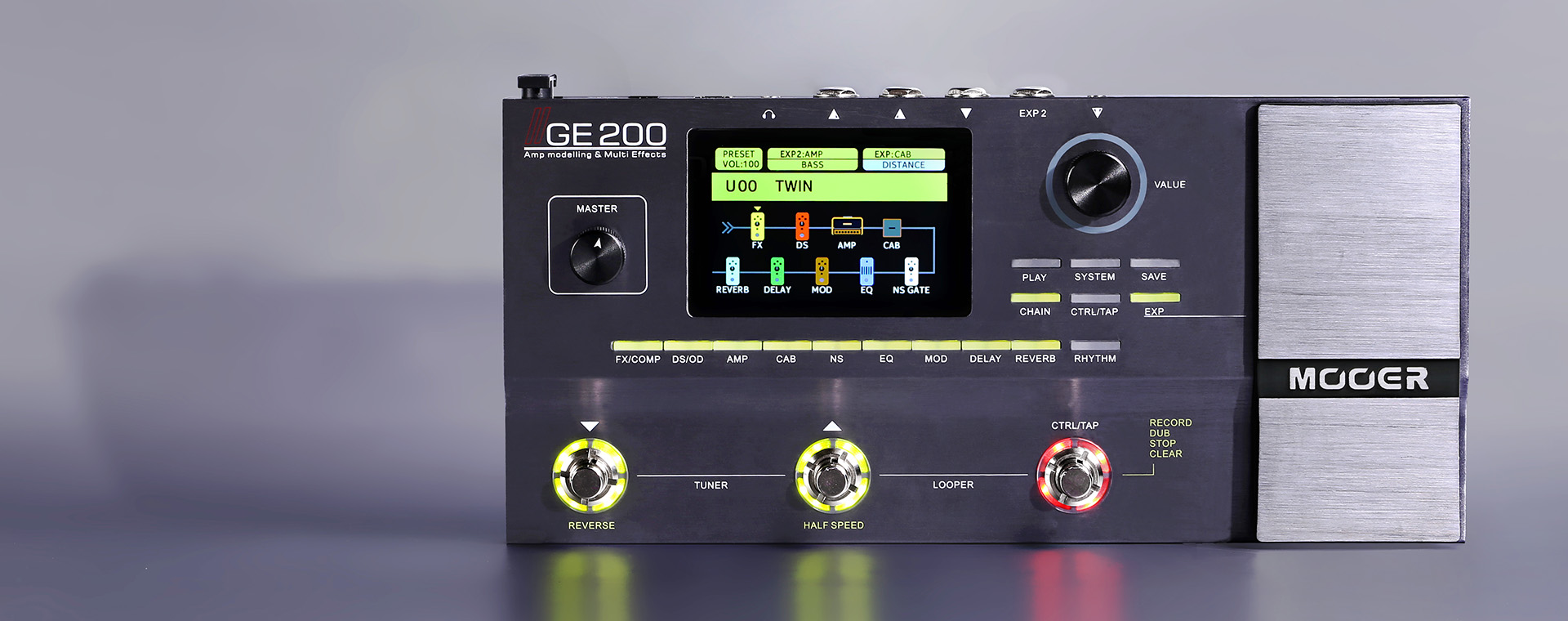 Mooer GE200 en Chile Disponible en Kowka
